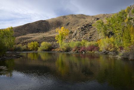 Big Lost River near Mackay Idaho