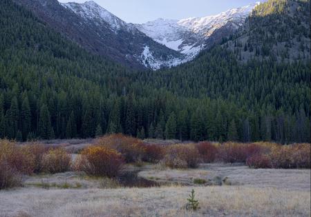 Pioneer Mountains, Idaho Фото со стока