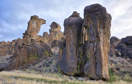 Hoodoos at Little City of Rocks, Idaho