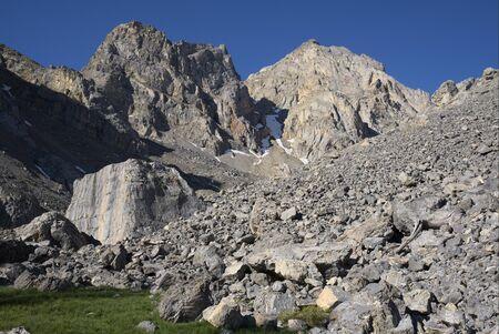 Glacial Boulder Stock Photo