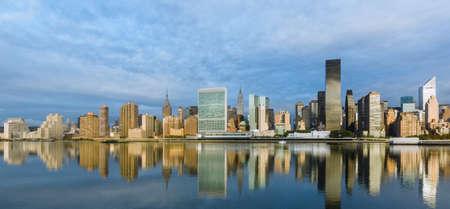 ミッドタウン イースト、ニューヨークのマンハッタンのパノラマ 写真素材