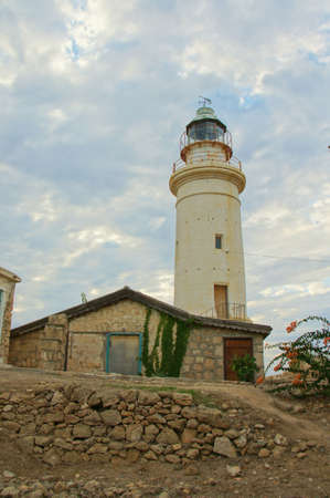 place of interest: old lighthouse Stock Photo