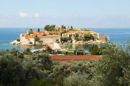 saint: Montenegro. Peninsula Saint Stefan
