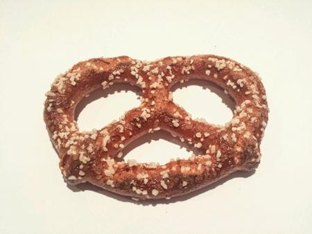 pretzel: Salty pretzel Stock Photo