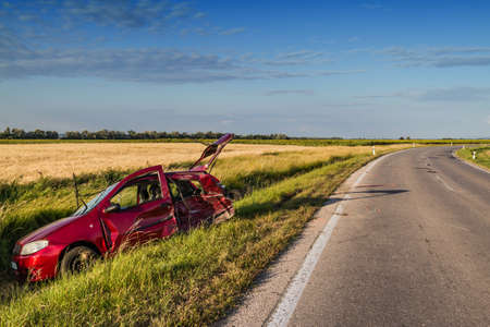 automobile insurance: Car accident .