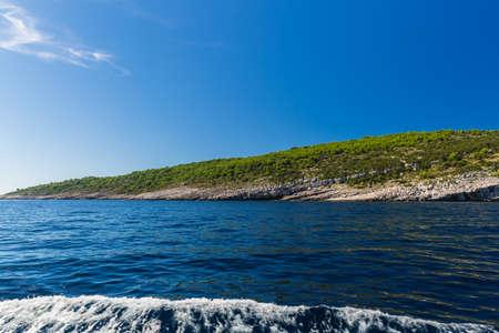 brac: Beauty of Croatian island Brac .