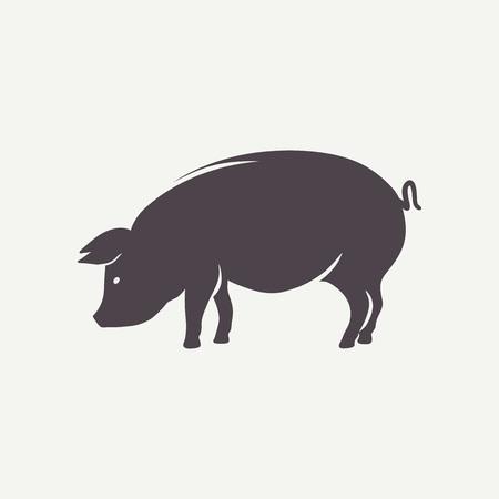 cerdos: Símbolo de cerdo