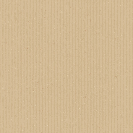 Cardboard texture. Vector seamless pattern. Realistic endless background