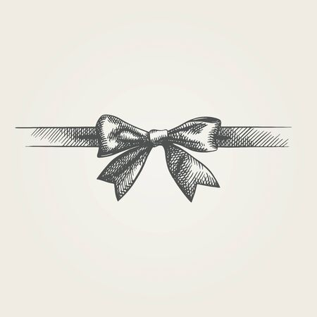 Hand drawn bow