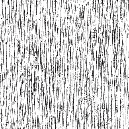 Weathered wood texture, grunge background. Vector seamless pattern