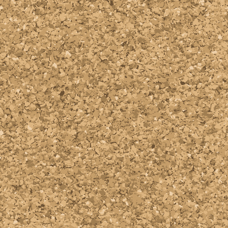 memory board: Cork texture. Vector seamless pattern. Pinboard endless background