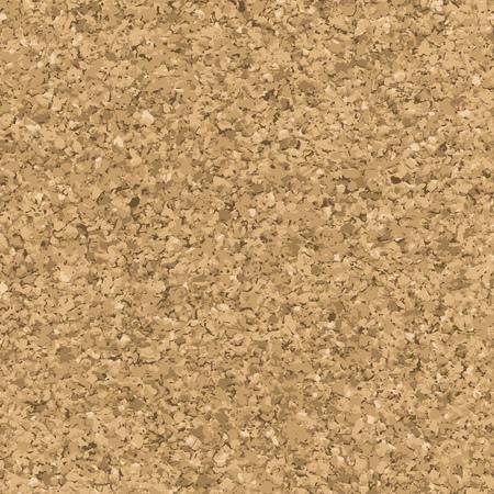 Cork texture. Vector seamless pattern. Pinboard endless background