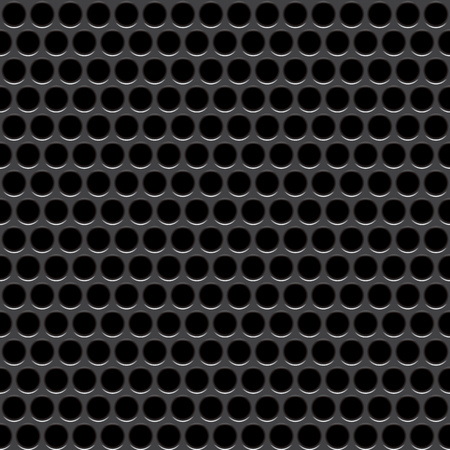perforation texture: Speaker grille. Vector seamless pattern. Abstract geometric background