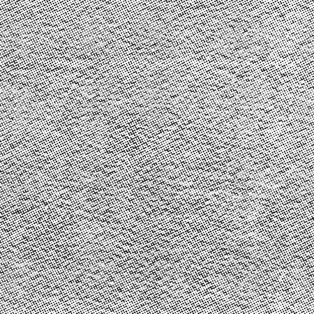 Grainy surface background. Halftone dots overlay texture. Seamless vector pattern