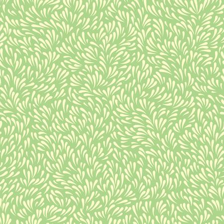 Resumen de fondo con la hierba u hojas onduladas. sin patrón floral Foto de archivo - 71265431