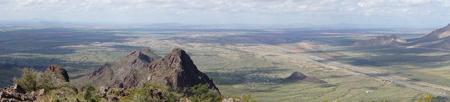 Panoramic View from Picacho Peak