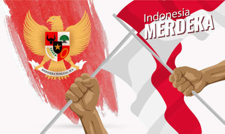 Anniversary Independence Day of the Republic of Indonesia.