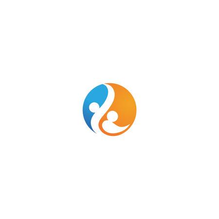 health life logo template icons Community