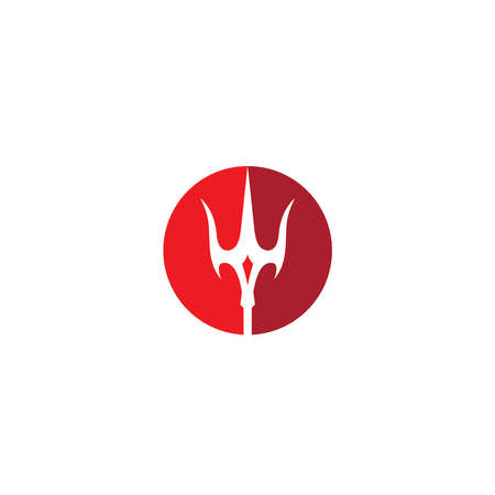 Magic Trident Logo illustration