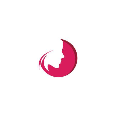 Beauty Fashion Spa Logo circle design vector Logo