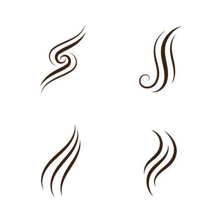 hair logo vector symbol, illustration icon