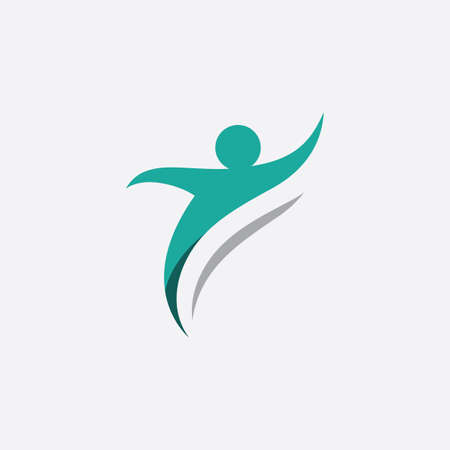people Healthy Life icon Logo template