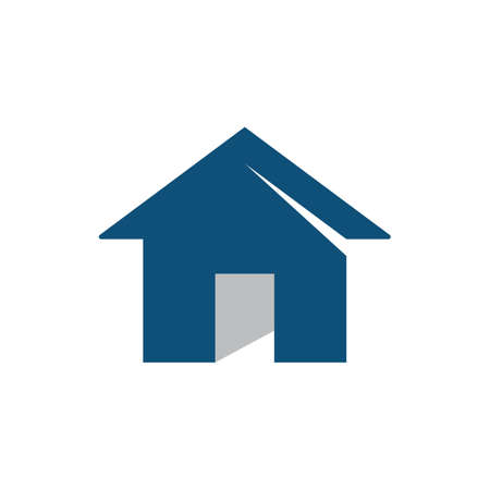 Property and construction home logo vector template design