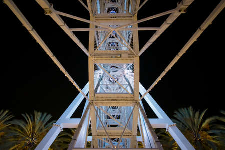 Beautiful angles of the ferris wheel