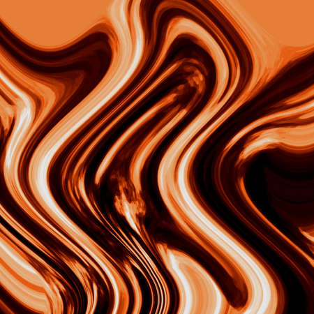 tide: brown tecture of a hot liquid chocolate Stock Photo