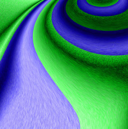 fleecy: 3d two colored abstract background