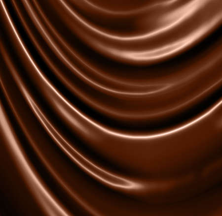 glossy chocolate waves photo
