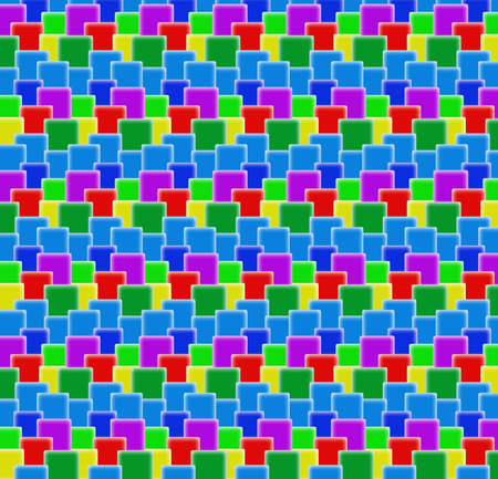 background of colorful cubes Stock Photo - 4731748