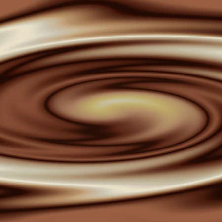 mixed chocolate swirl photo