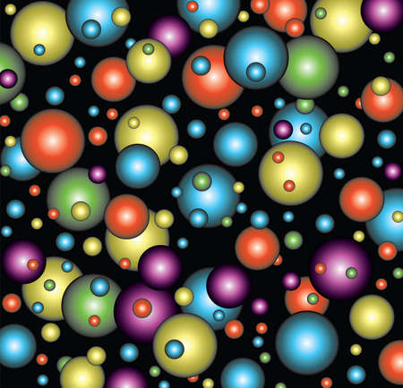 vector background of bubbles or balls Stock Vector - 5774950