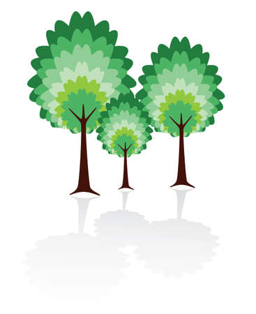 vector tree family of father, mother and child Stock Vector - 5865538