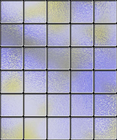 abstract background of light blue blocks photo