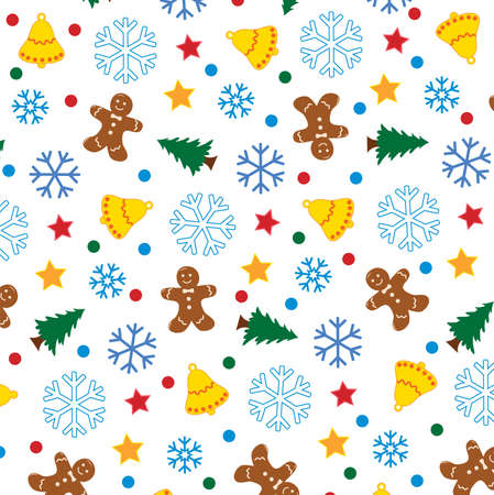 winter holiday background Stock Vector - 6175349