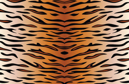 vector background of tiger skin  Vector