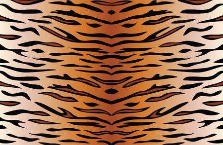 arrière-plan de vecteur de la peau du tigre