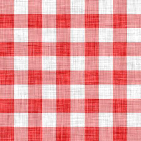 digitally made red picnic cloth photo