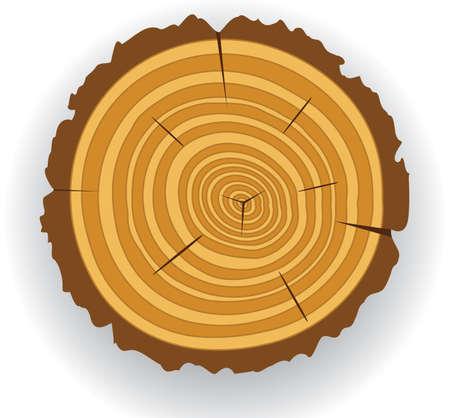 wooden cut clip-art Stock Vector - 6485962