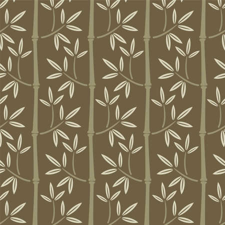 japan pattern: naadloze bamboe wallpaper Stock Illustratie