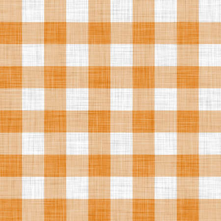 on the tablecloth: orange picnic cloth  Stock Photo