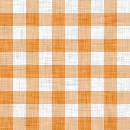 tela algodon: pa�o de picnic naranja
