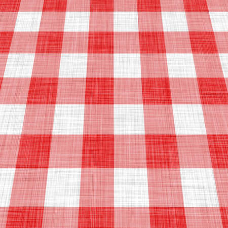 red picnic cloth  Stock Photo - 6651907