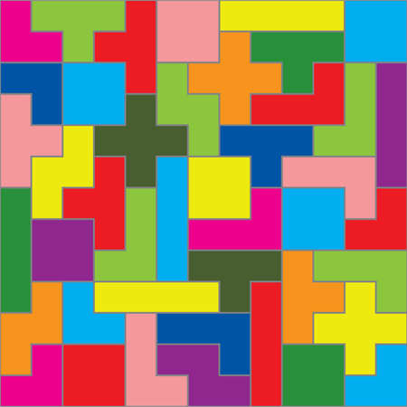 connection block: puzzle pieces fit together