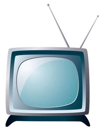 retro tv set Stock Vector - 6780891