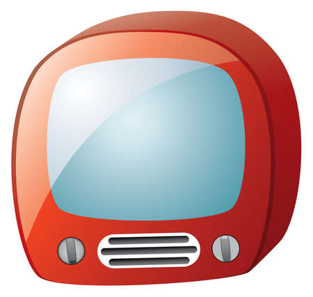 retro tv set Stock Vector - 6780883