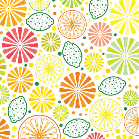 lime green: citrus background