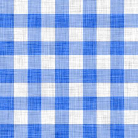table decoration: blue picnic cloth